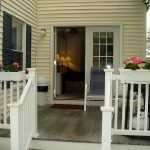 King Deluxe Suite at Footbridge Motel in Ogunquit, Maine. Deck and Grill area.