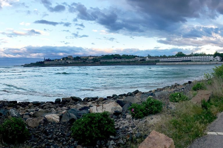 View of the Gulf of Maine from Ogunquit, Maine.