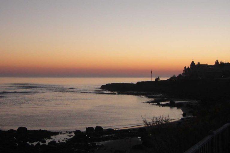 Sunset in Ogunquit Maine