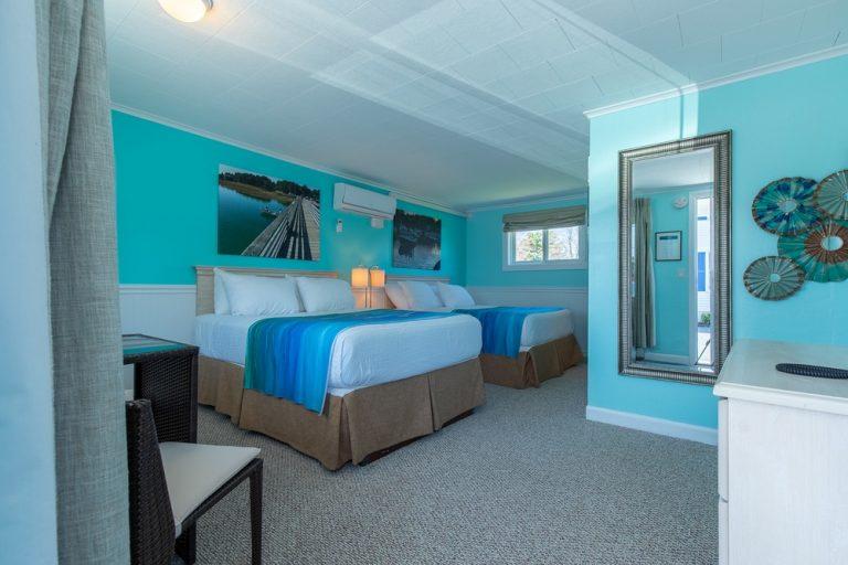 Footbridge Motel Room 03 | Perspective