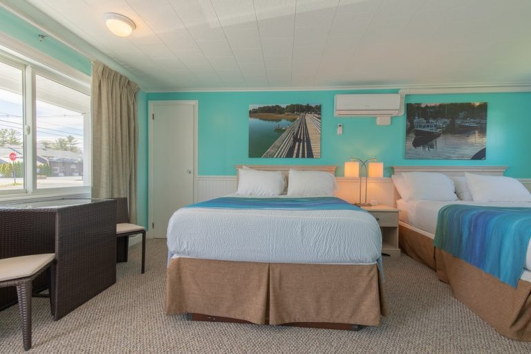Footbridge Motel Room 03 | Frontal