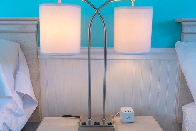 Footbridge Motel Room 03 | Night Lamp