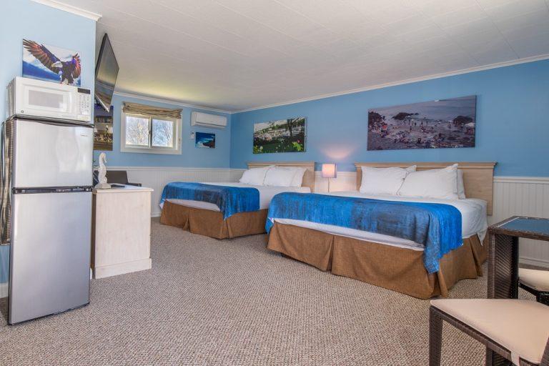 Footbridge Motel Room 04 | Entrance Perspective View
