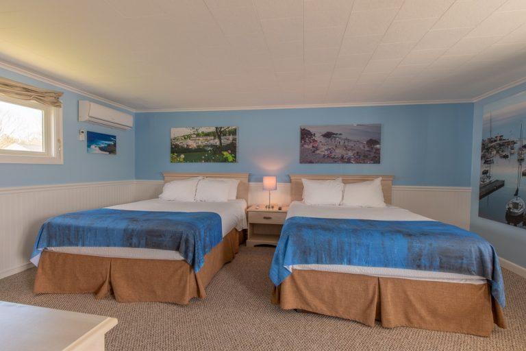 Footbridge Motel Room 04 | Frontal View