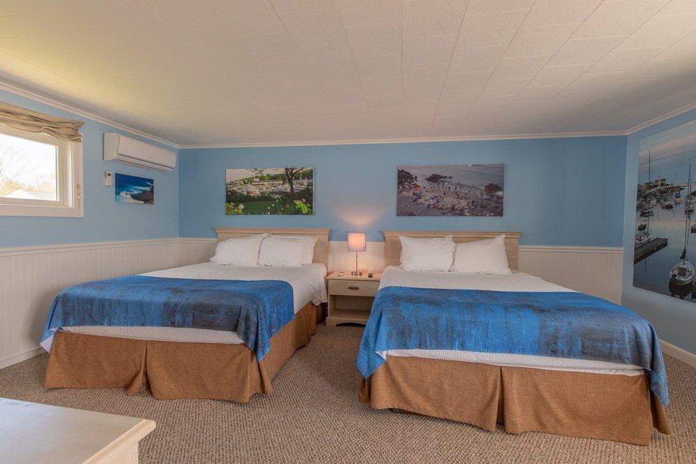 Footbridge Motel Room 04   Frontal View
