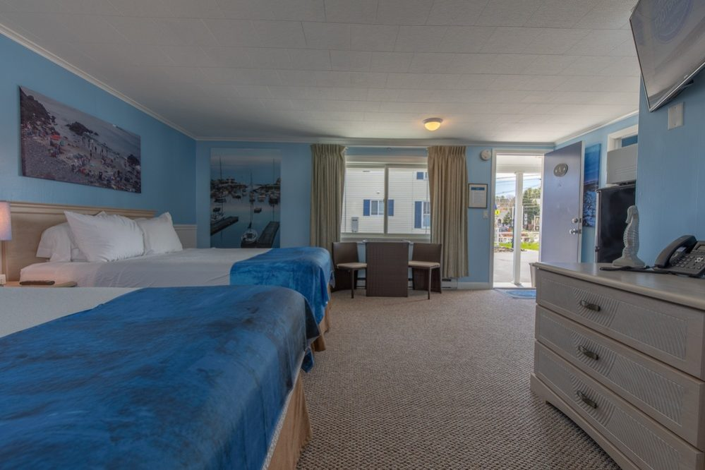 Footbridge Motel Room 04 | Side View Interior
