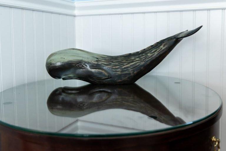 Footbridge Motel Room 04 | Whale Decoration