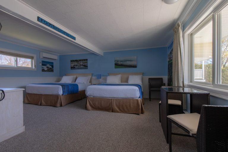 Footbridge Motel Room 06 | Frontal View Entrance