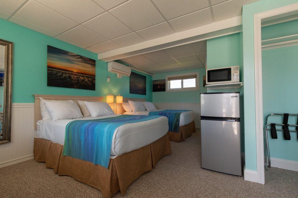 Footbridge Motel Room 07 | Perspective Entrance