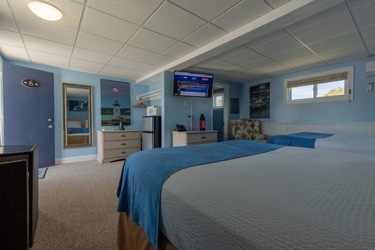 Footbridge Motel Room 08 | Inside View Door Side