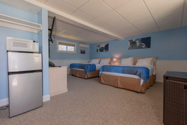 Footbridge Motel Room 08 | Perspective View Entrance