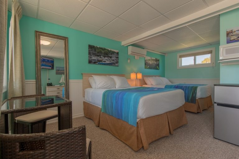 Footbridge Motel Room 09 | Perspective