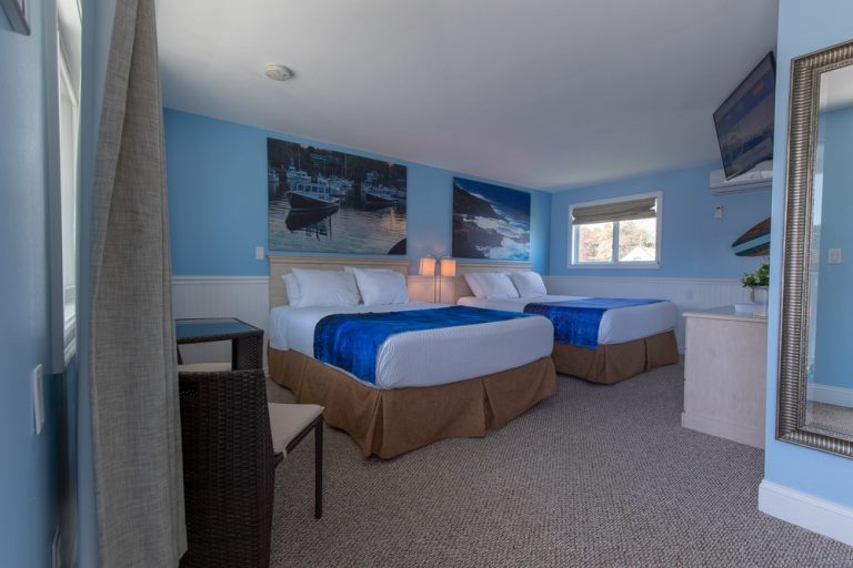 Footbridge Motel Room 14 | Perspective View Entrance