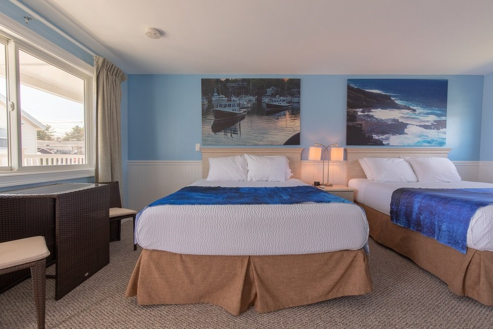 Footbridge Motel Room 14   Frontal View
