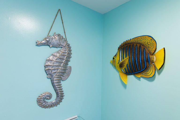 Footbridge Motel Room 15 | Wall Decorations
