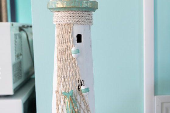 Footbridge Motel Room 15 | Lighthouse Decoration