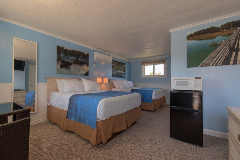 Footbridge Motel Room 16 | Perspective Entrance