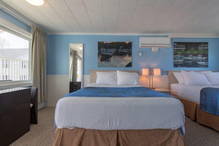 Footbridge Motel Room 16 | Frontal View