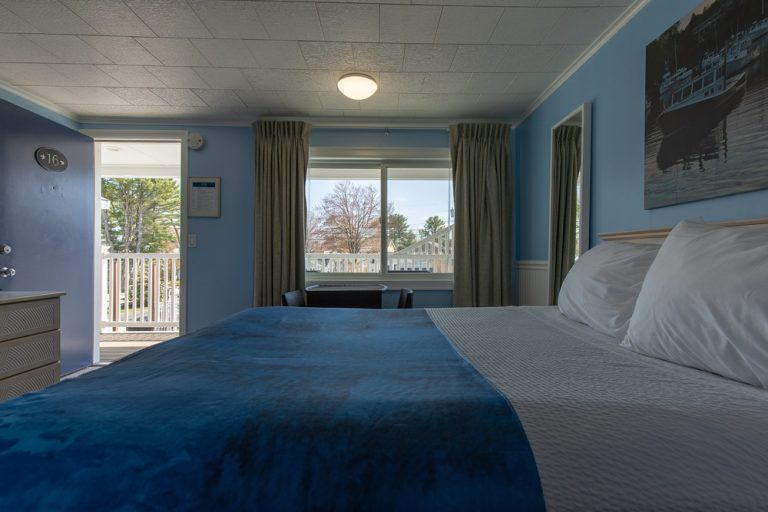 Footbridge Motel Room 16 | Side View Interior