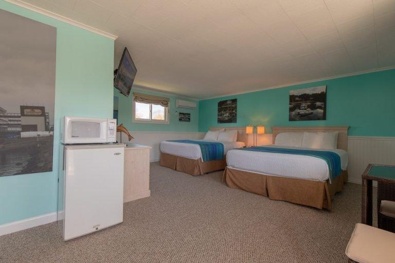 Footbridge Motel Room 17 | Perspective View Entrance