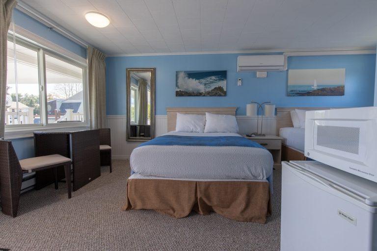 Footbridge Motel Room 18 | Frontal View
