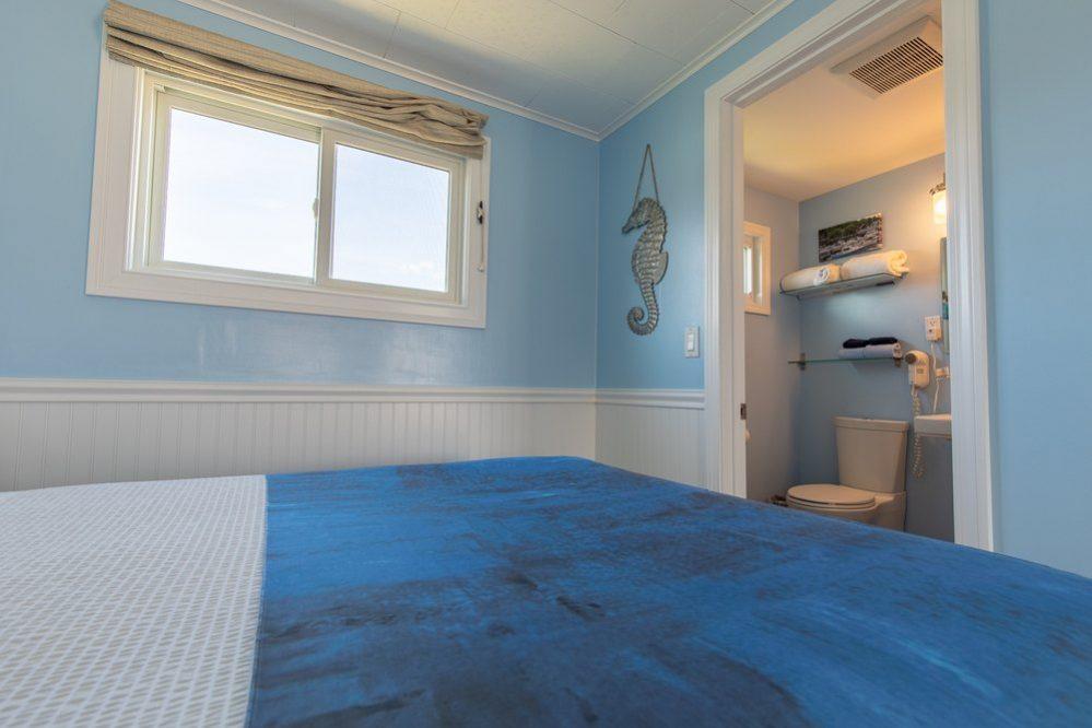 Footbridge Motel Room 18 | Interior Window