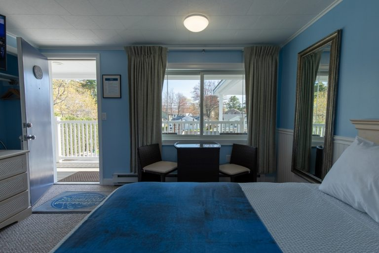 Footbridge Motel Room 18 | Outside View from Interior