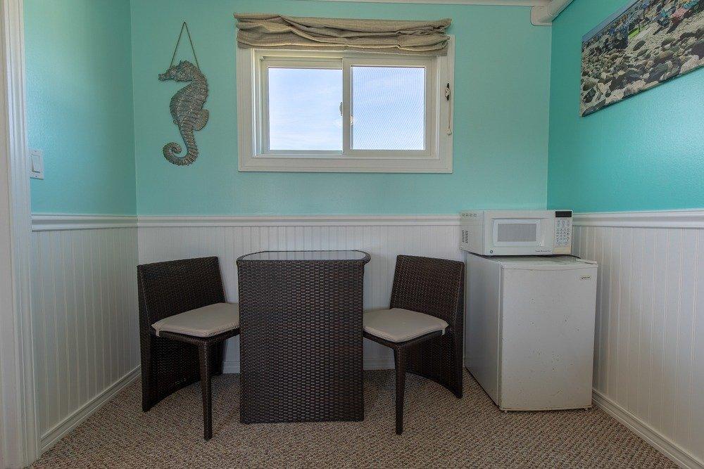 Footbridge Motel Room 19 | Living Room
