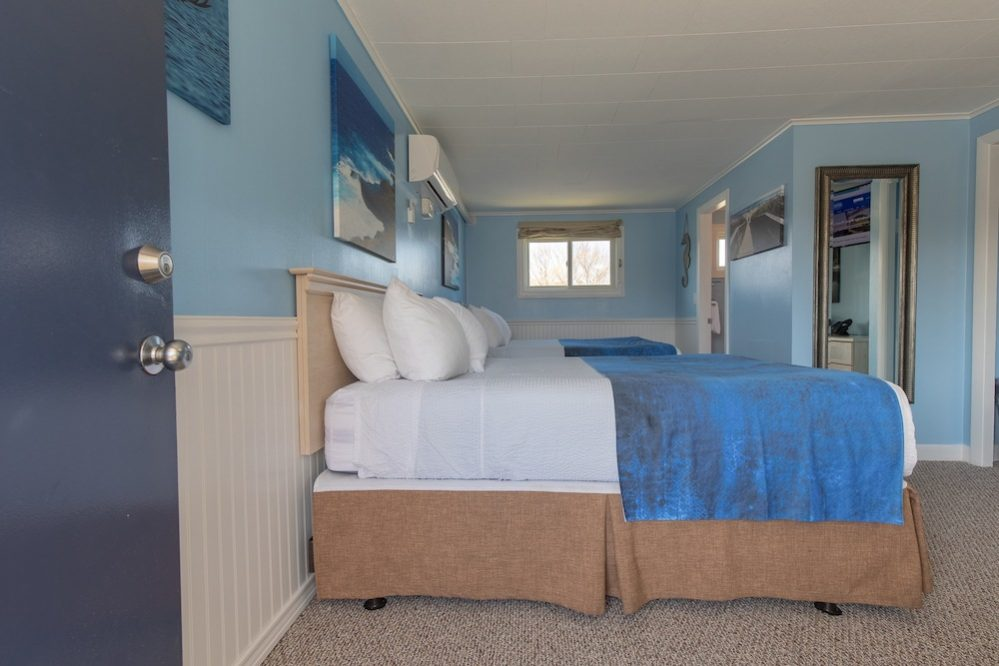 Footbridge Motel Room 20 | Side View Entrance