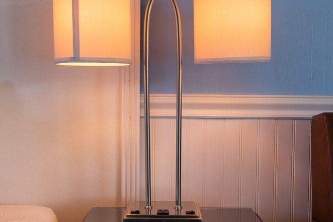 Footbridge Motel Room 02 | Night Lamp