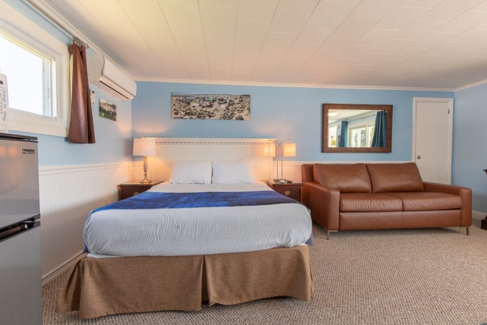 Footbridge Motel Room 02 | Secondary Bedroom Frontal